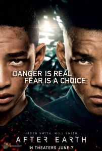 After Earth father and Son poster